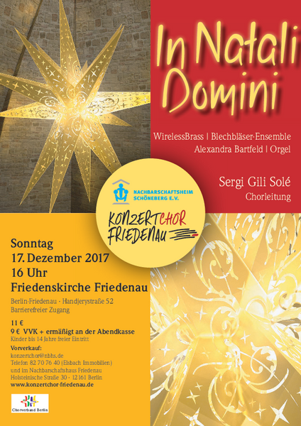 In natali domini // ADVENTSKONZERT